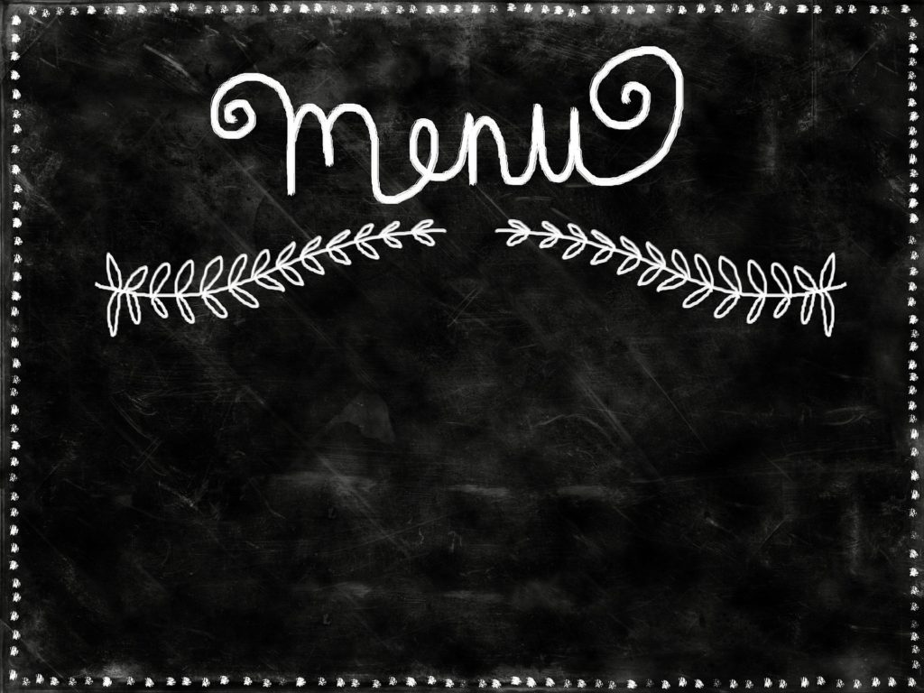 A chalkboard menu open for your unique legal service needs.